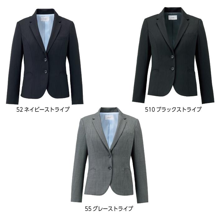 【ジャケット/事務服】EAJ-711 ジャケット オールシーズン レディース【KARSEE/ENJOY】カラー