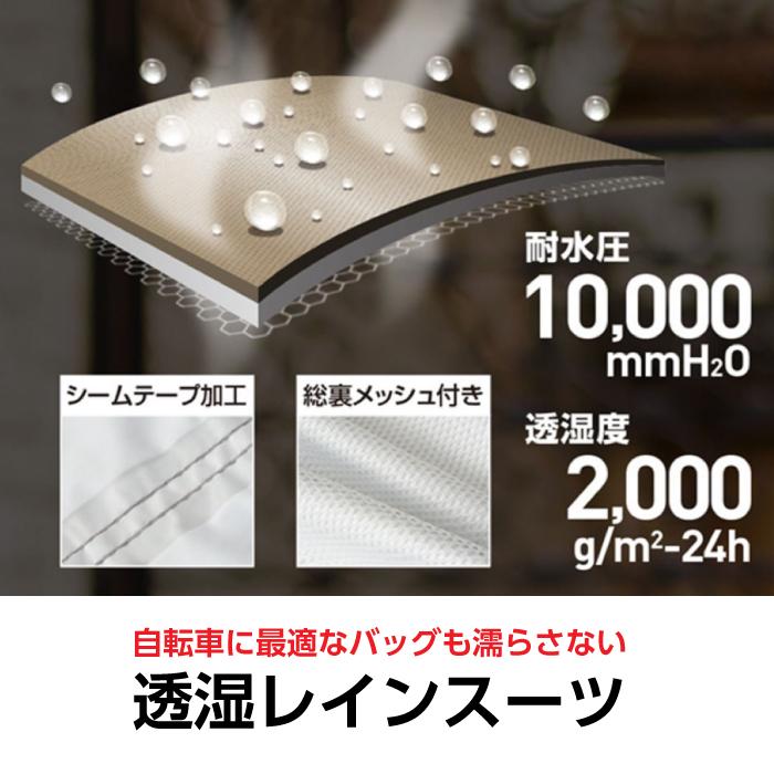 【マック】AS-7600 EG アジャストマック バッグイン レインウェア 詳細